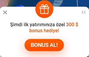 Hər oyunçu üçün gözəl bonus hədiyyə!
